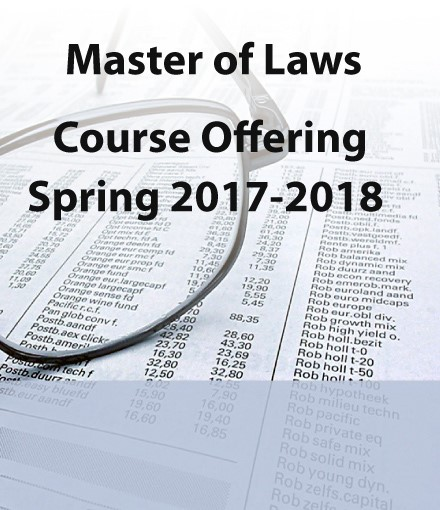 Course Offering - Spring 2018
