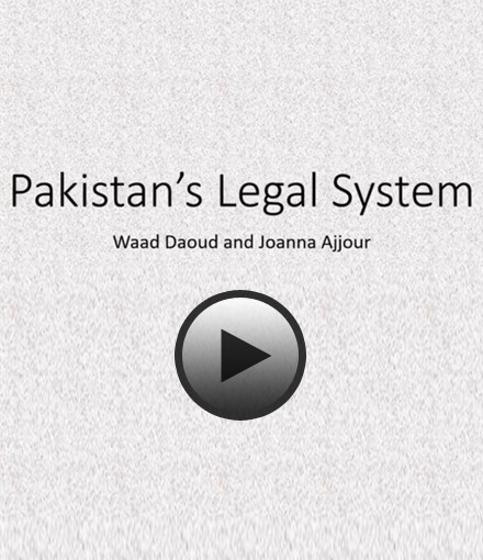 The mixed legal system (Common and Religious Law) in Pakistan