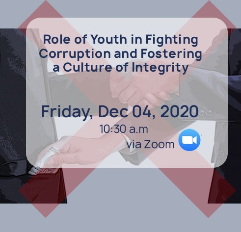 Role of Youth in Fighting Corruption and Fostering a Culture of Integrity