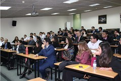 Mr. Donald Batal at the Sagesse Faculty of Hospitality Management