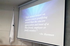 "IPD center organized a workshop entitled ""The art of Understanding Character; Discover your Personality type"""