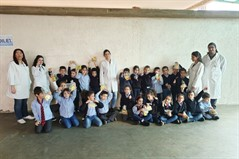 The nursing department at ULS organized a hygiene day at Sagesse High School