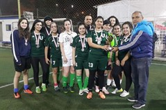 2nd place for ULS team in the Christmas girls one day tournament organized by Al Nasr Club