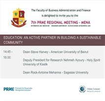 7th PRME Regional Meeting