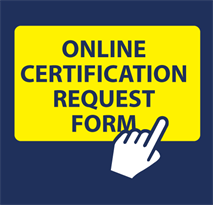 ONLINE CERTIFICATION REQUEST FORM