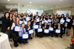 "Sagesse Business Students Score High at the BOB's ""Hands-on Banking"""